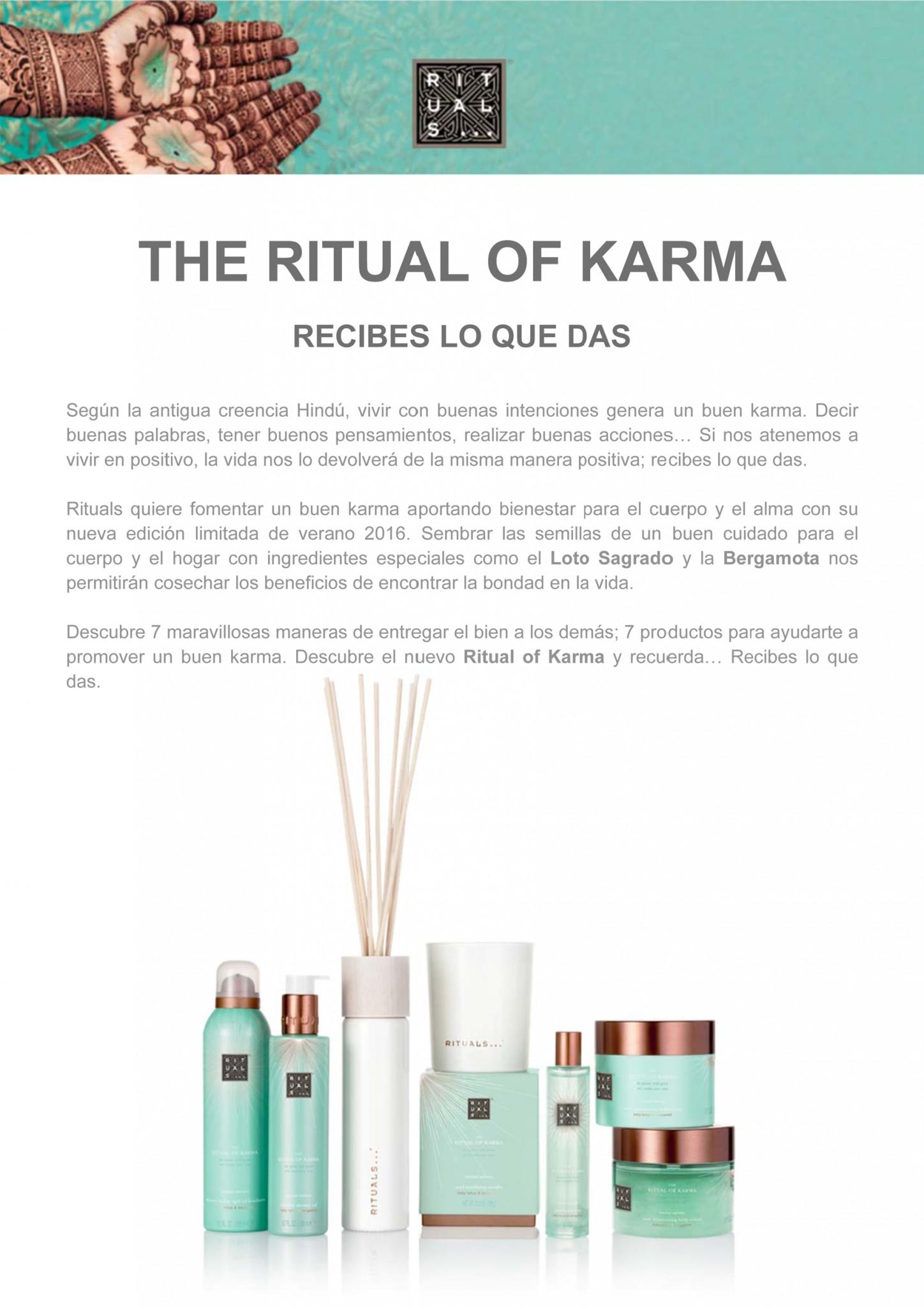 the ritual of karma recibes lo que das revista salud. Black Bedroom Furniture Sets. Home Design Ideas